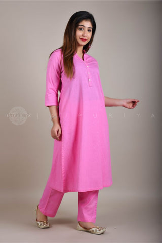 Green Leheriya Festive Kurta and Pants Set