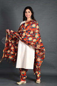 Basic Ivory Kalamkari Salwar Set with Dupatta