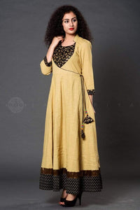 Cheekoo Black Gota Anarkali - Jaipuriya