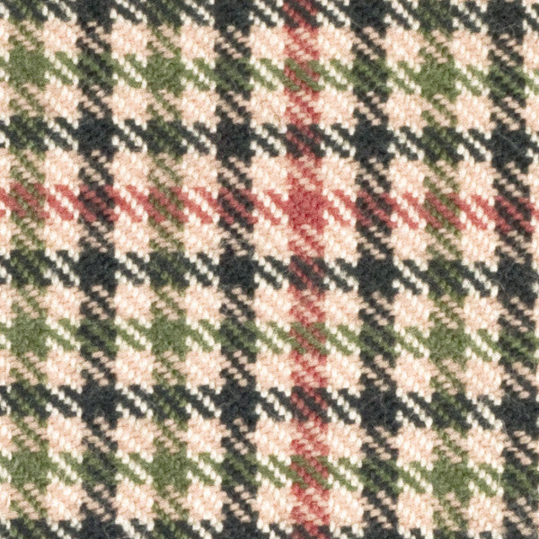 The Straight Checked Tweed
