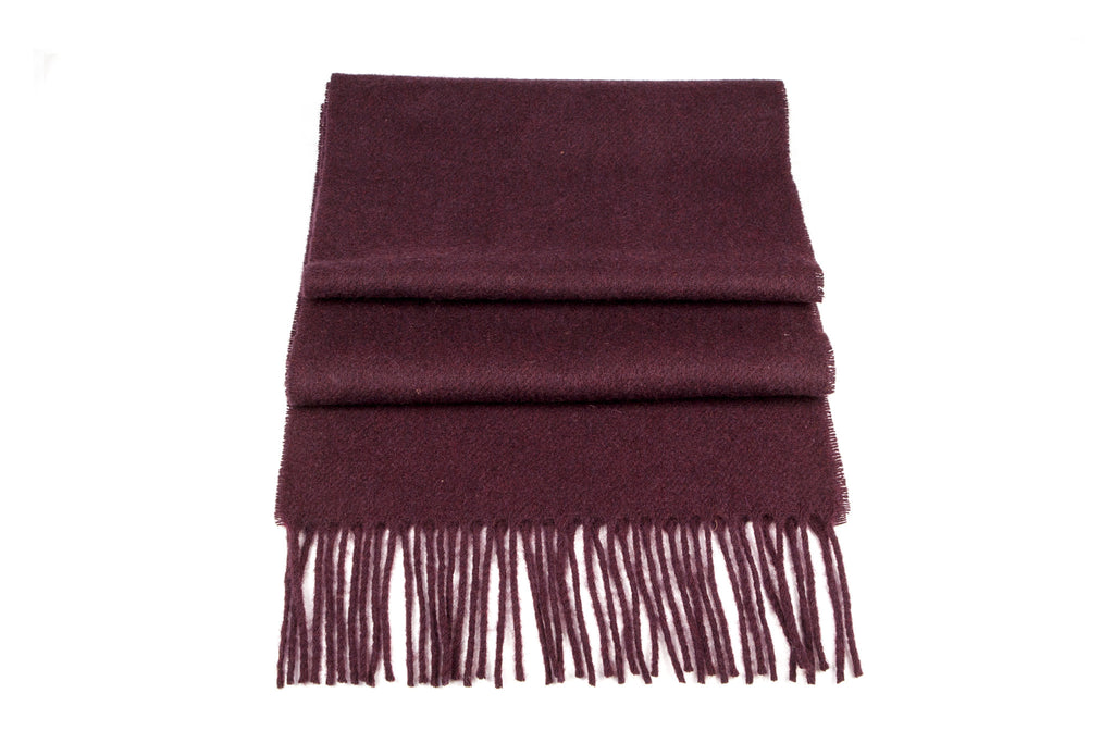 The Claret Scarf