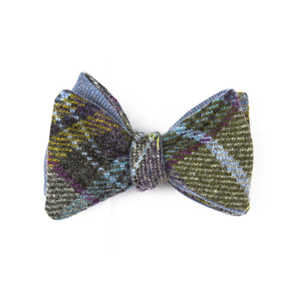 The Lambswool Tartan Flip