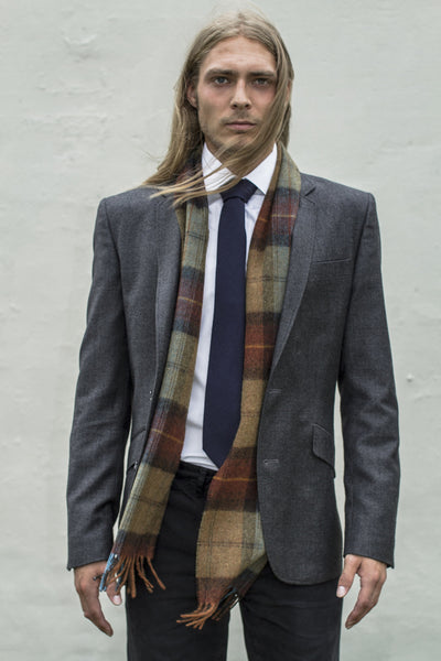 The Rust Plaid Scarf