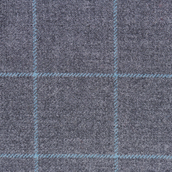 The Aqua Plaid Flip