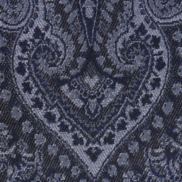 The Charcoal Paisley