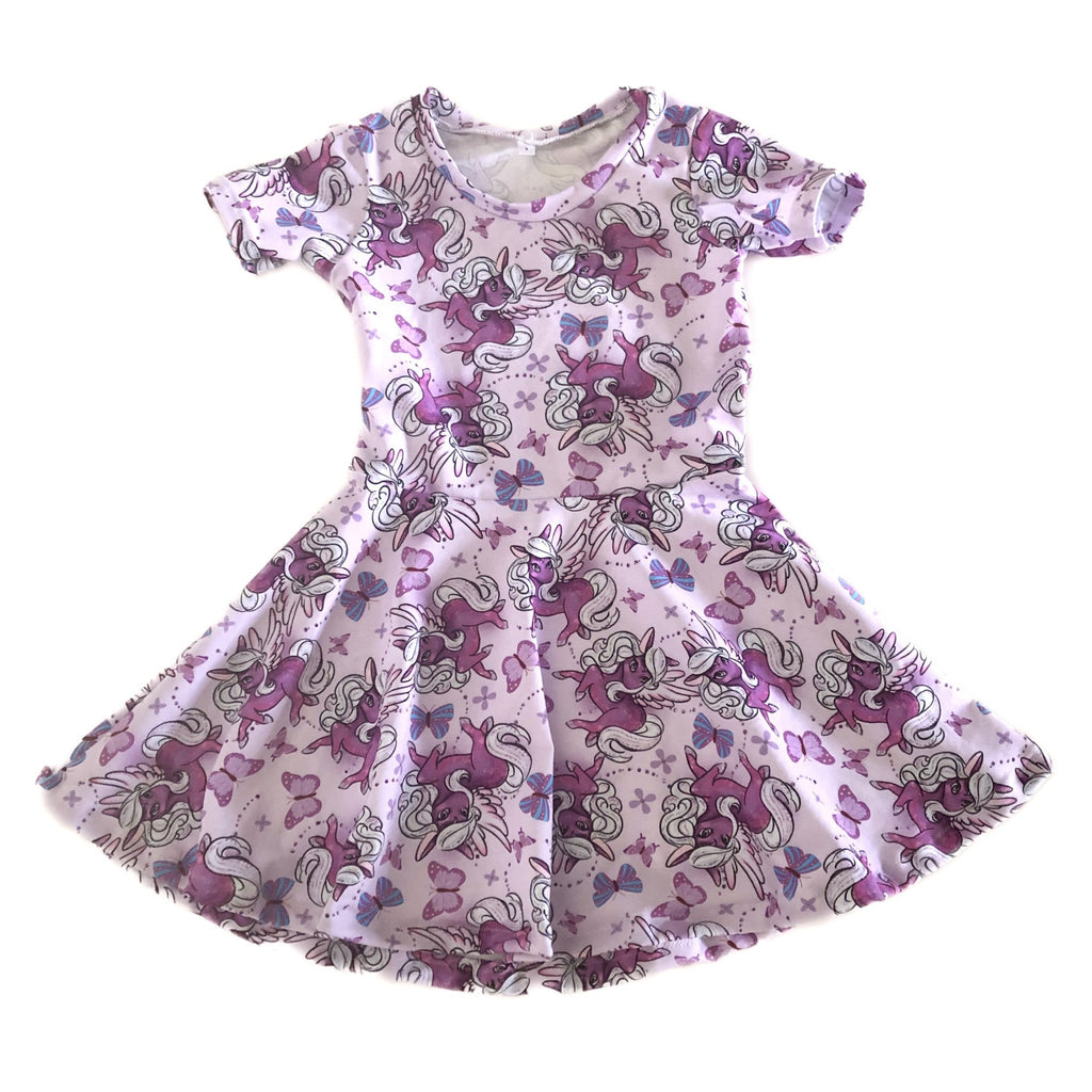 Size: 5 - Short Sleeve Twirl Dress