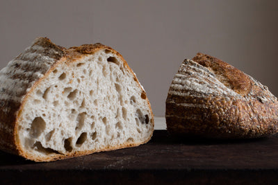 6x Large Organic Wild White Sourdough
