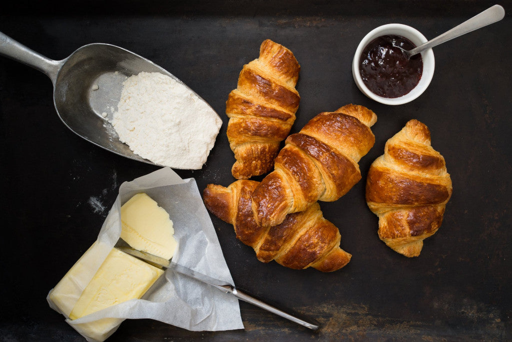 Croissants and Danish Pastries