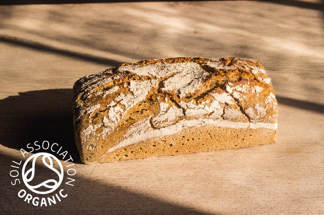 6x Organic Light Rye Sourdough