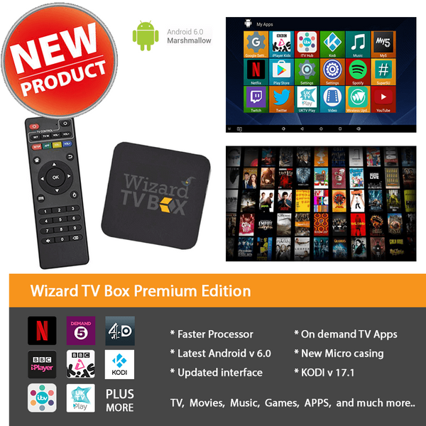 WIZARD TV BOX PREMIUM EDITION