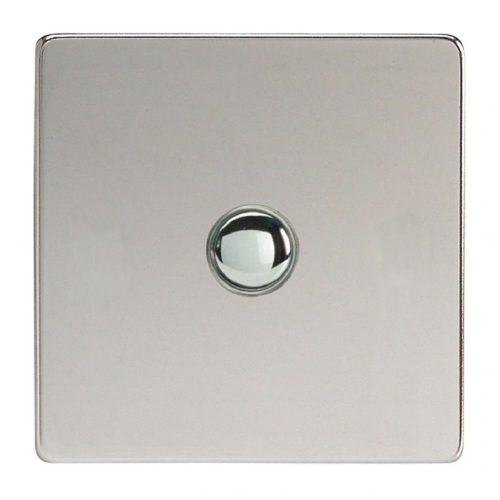 Varilight IJDCS001S | Polished Chrome Screwless Dimmer Switch
