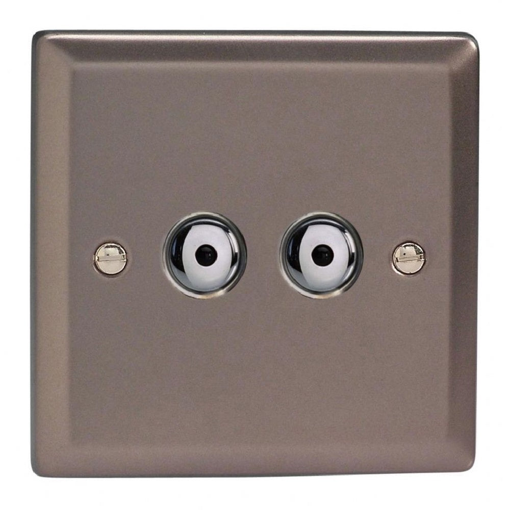 Varilight IJRI102 | Pewter Classic Dimmer Switch