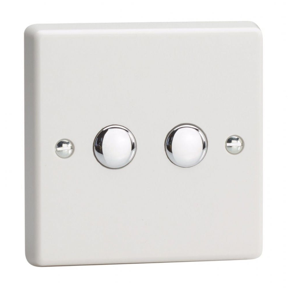 Varilight IQS002 | White Dimmer Switch