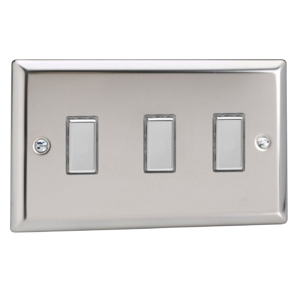 Varilight JCES003 | Mirror Chrome Classic Dimmer Switch