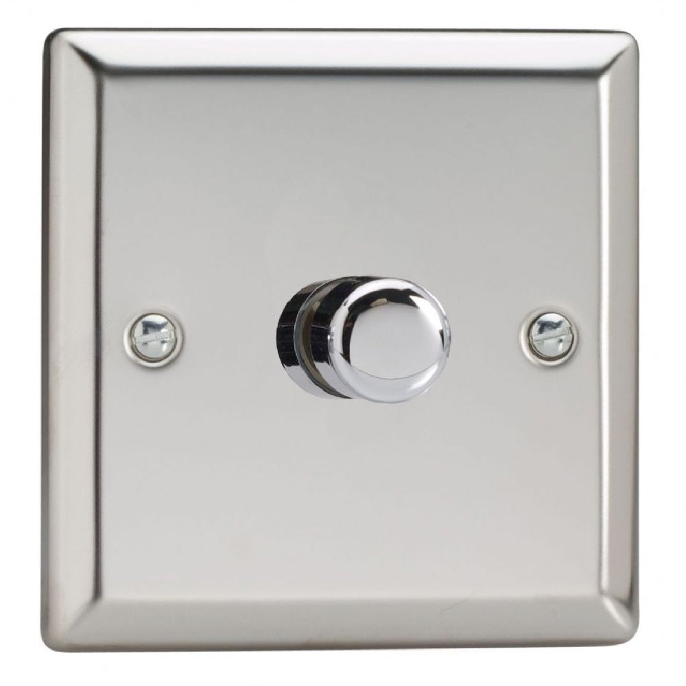 Varilight JCP401 | Mirror Chrome Classic Dimmer Switch