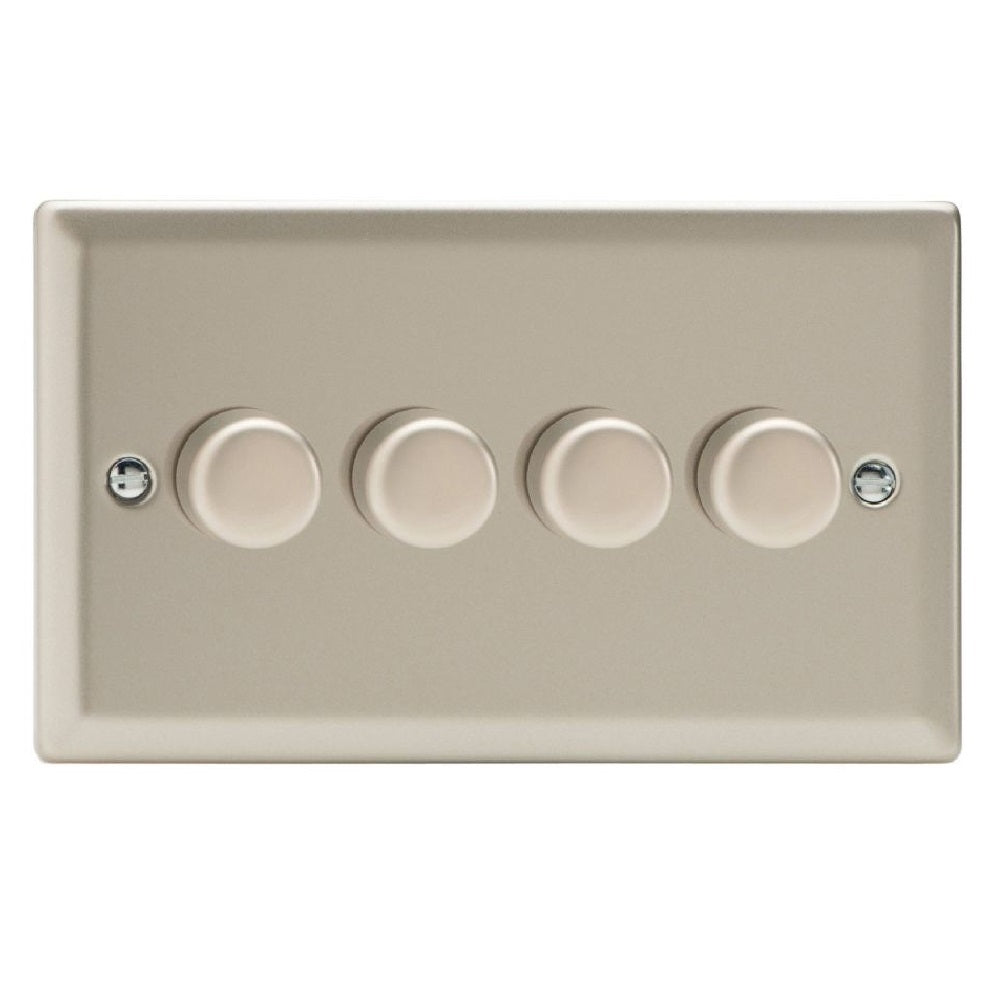 Varilight JNDP254 | Satin Chrome Classic Dimmer Switch