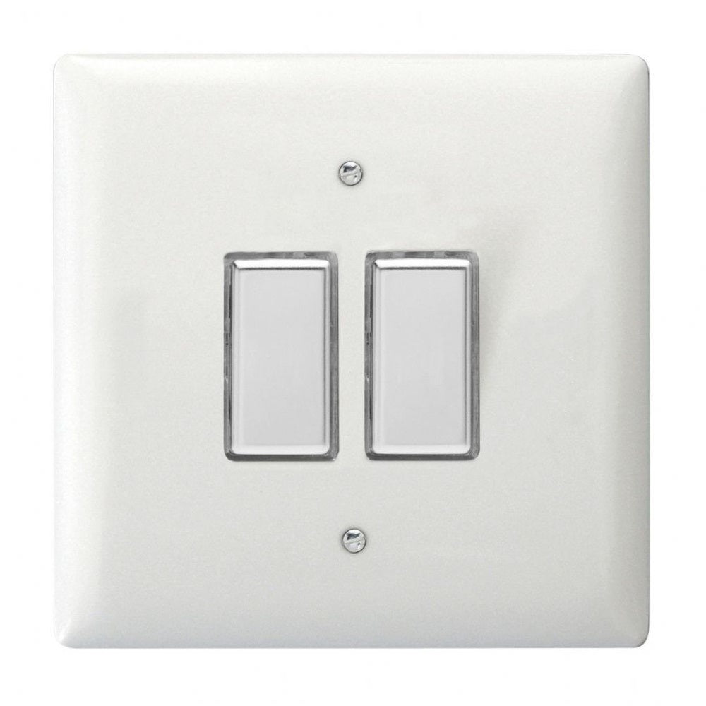Varilight JOT102C | Polar White Dimmer Switch