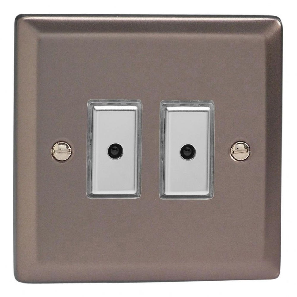 Varilight JRE102 | Pewter Classic Dimmer Switch