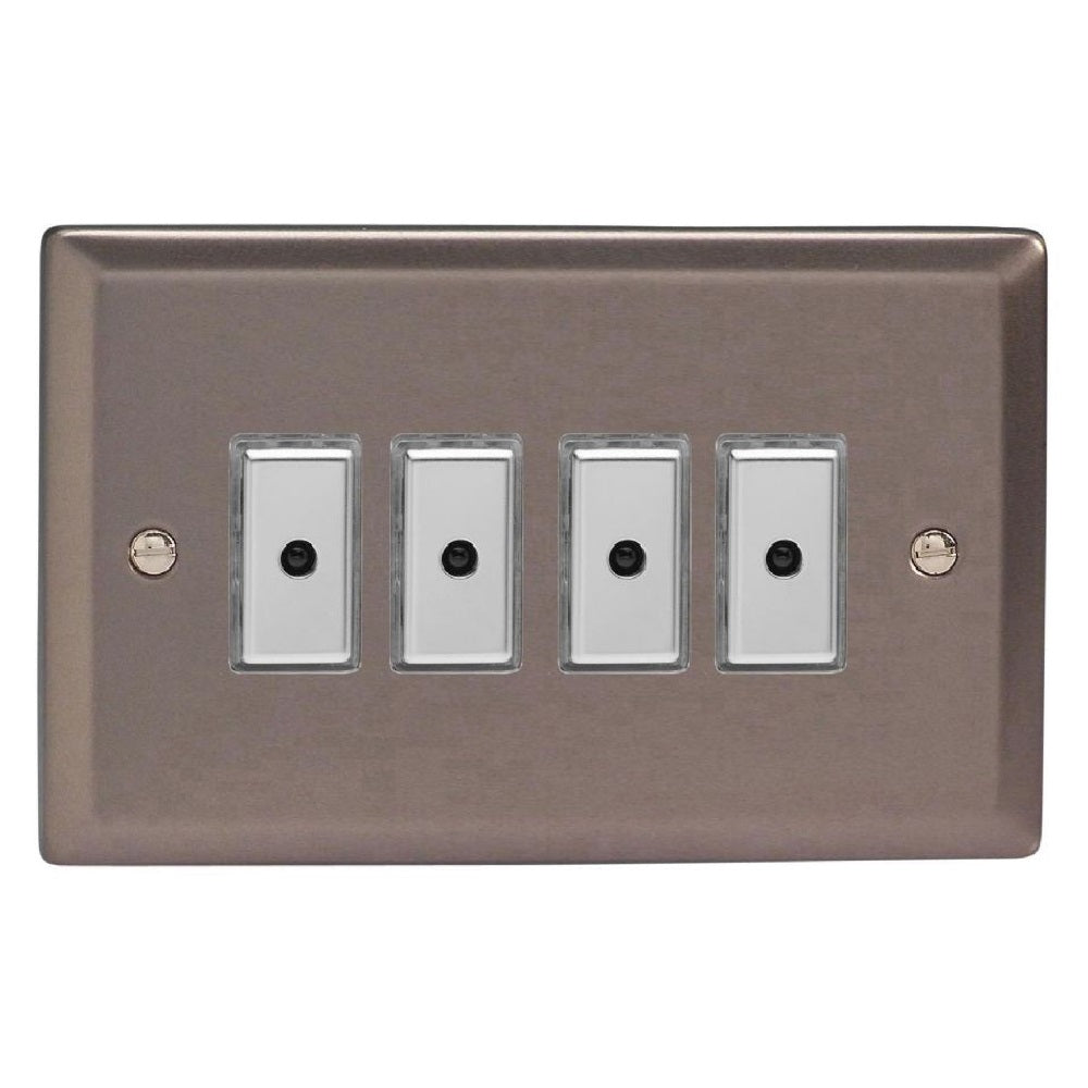 Varilight JRE104 | Pewter Classic Dimmer Switch