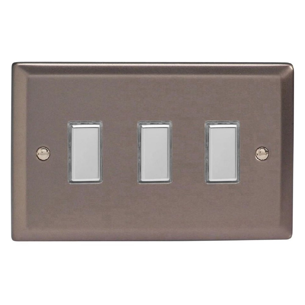 Varilight JRES003 | Pewter Classic Dimmer Switch