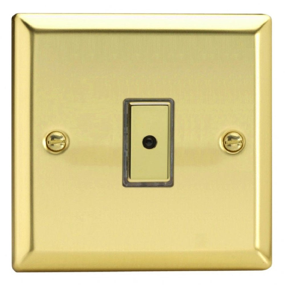Varilight JVE101 | Victorian Brass Classic Dimmer Switch