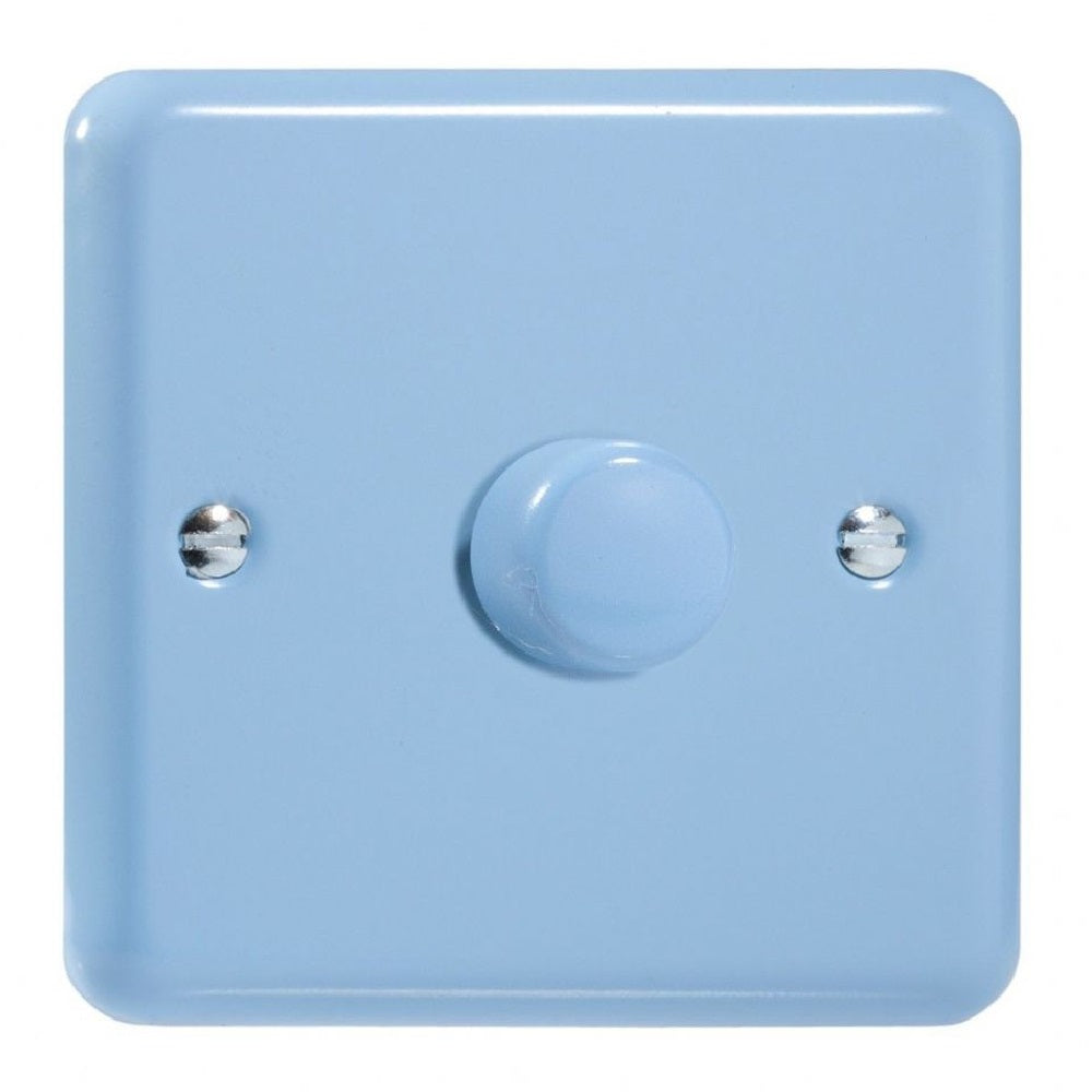 Varilight JYP401.DB | Duck Egg Blue Lily Dimmer Switch | JYP401DB