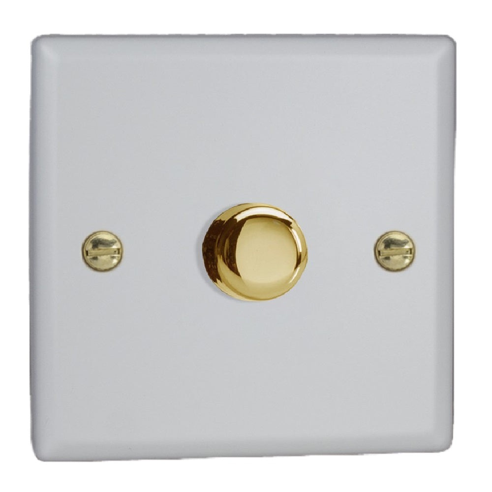 Varilight JYP401V.MW | Matt White Vogue Dimmer Switch | JYP401VMW