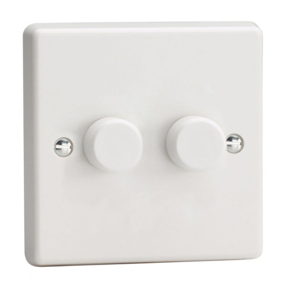 Varilight KQP102W | White Dimmer Switch