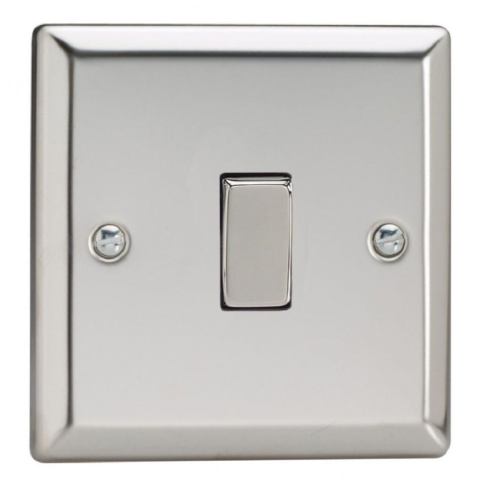 Varilight XC1D | Mirror Chrome Classic Rocker Switch