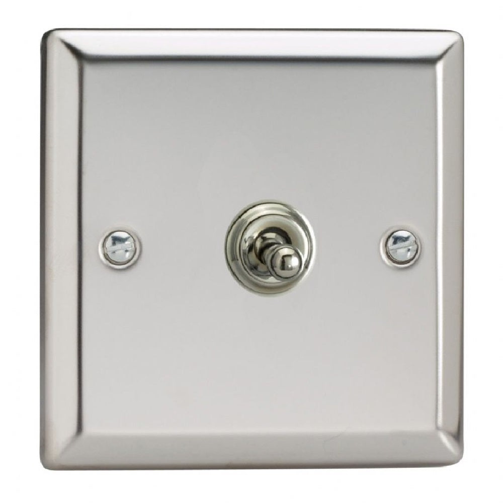 Varilight XCT7 | Mirror Chrome Classic Intermediate Switch