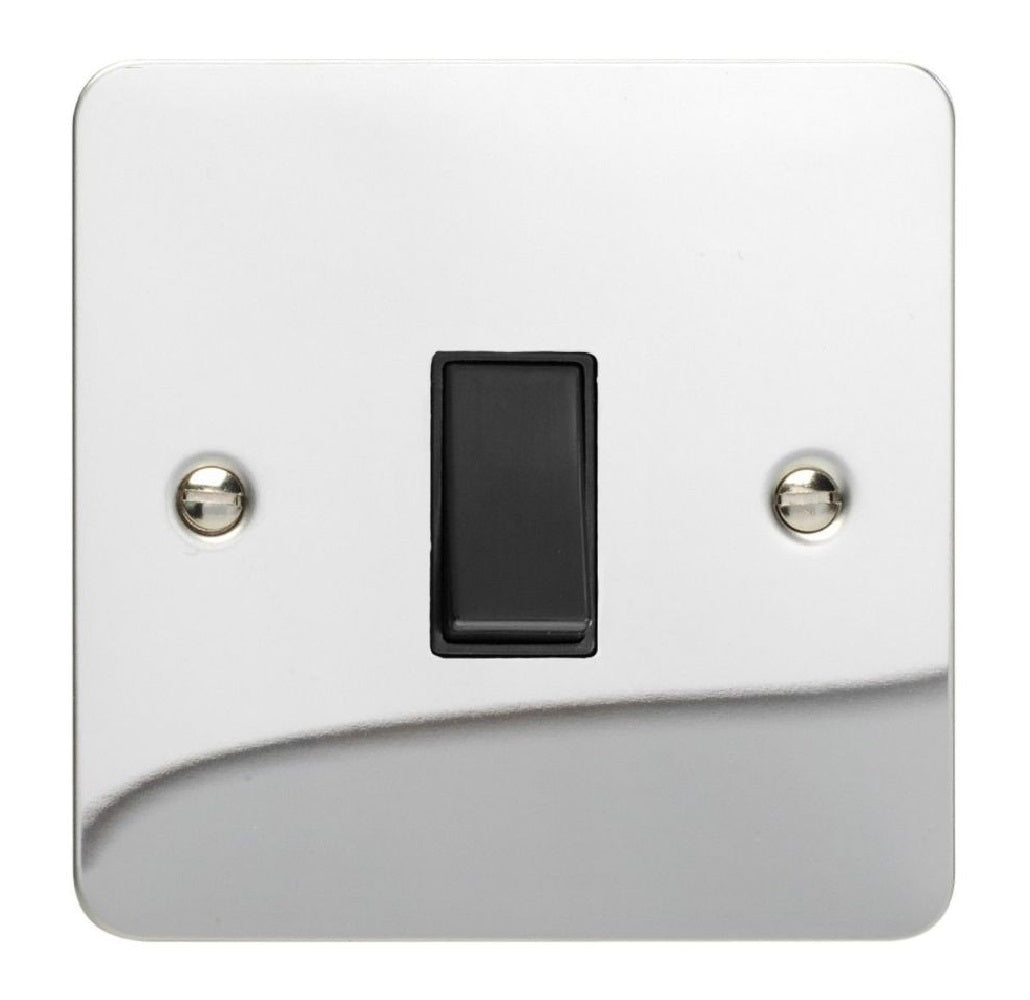 Varilight XFCBPB | Polished Chrome Ultraflat Retractive Switch