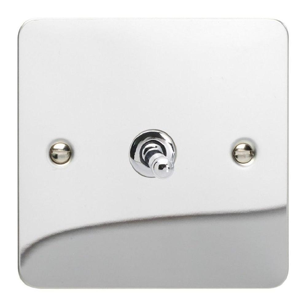 Varilight XFCT7 | Polished Chrome Ultraflat Intermediate Switch