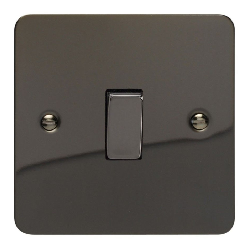 Varilight XFi1D | Iridium Black Ultraflat Rocker Switch