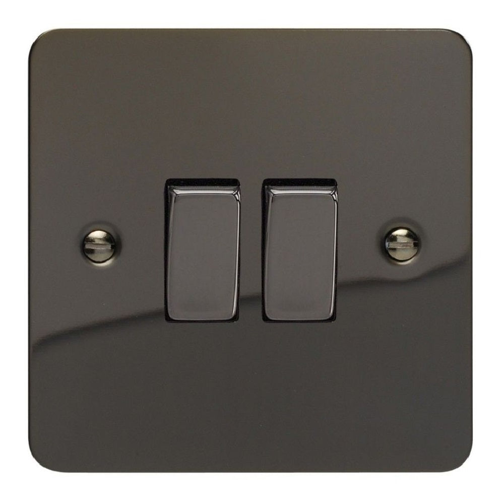 Varilight XFi2D | Iridium Black Ultraflat Rocker Switch