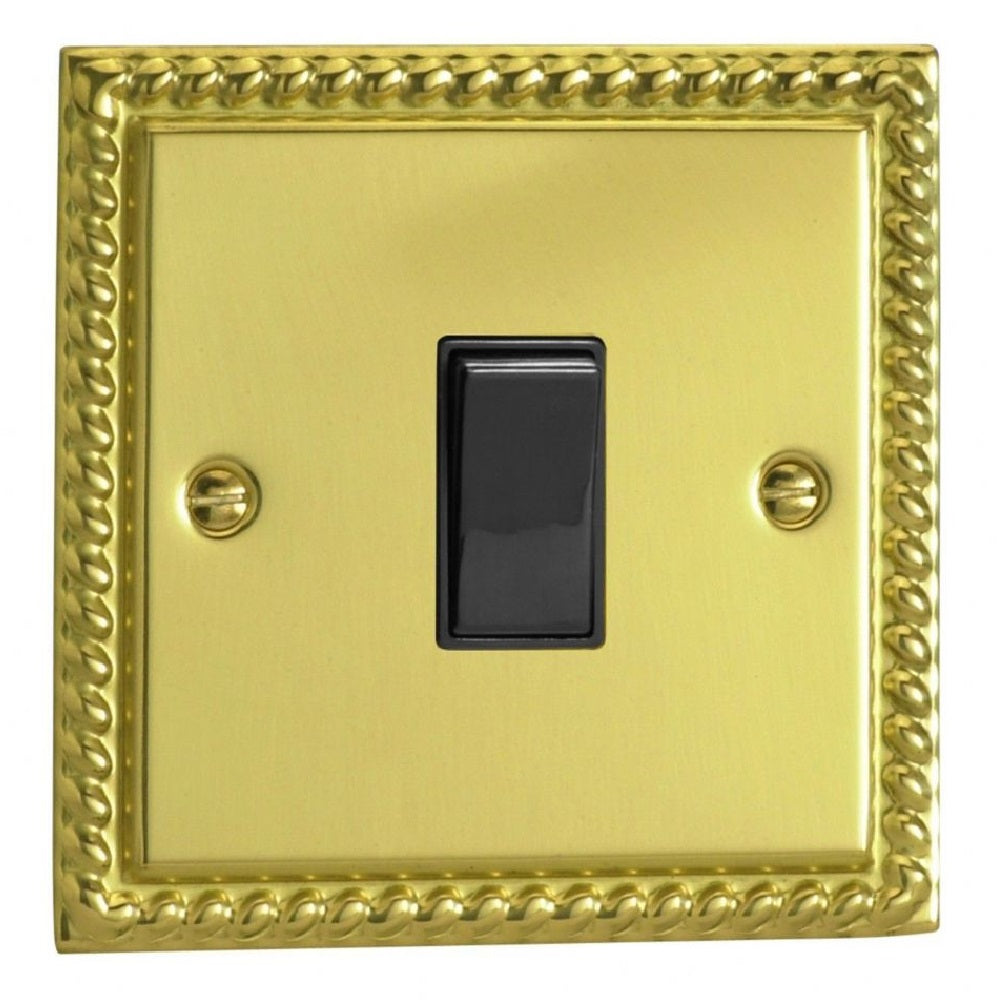 Varilight XG7B | Georgian Brass Classic Intermediate Switch