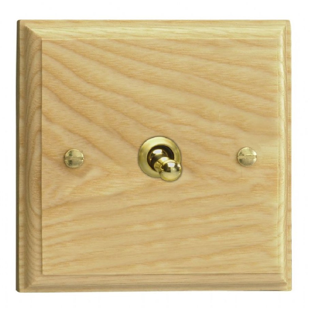 Varilight XKT1A | Ash Kilnwood Toggle Switch