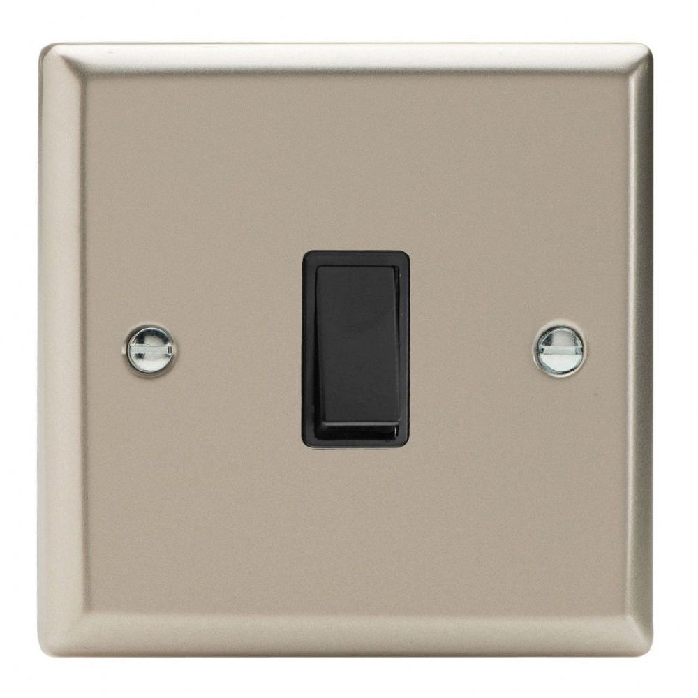 Varilight XNBPB | Satin Chrome Classic Retractive Switch