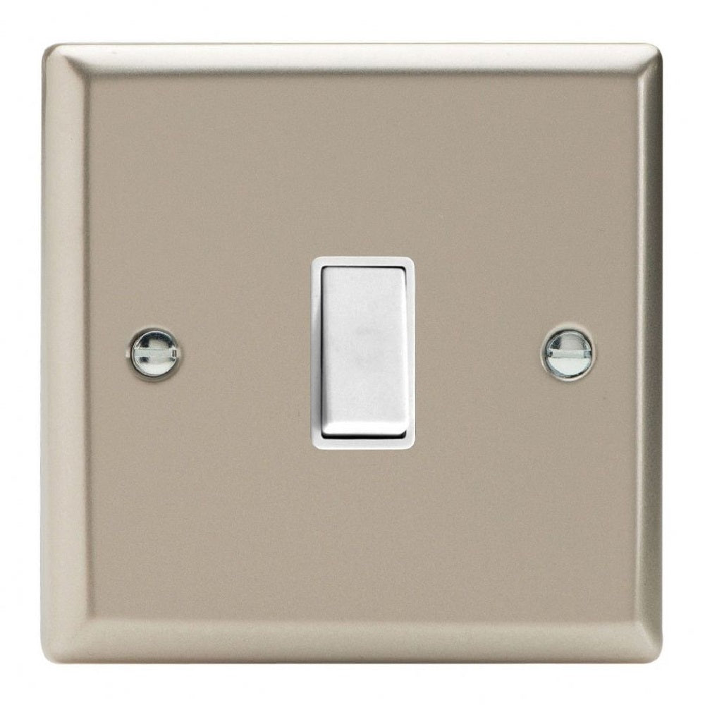Varilight XNBPW | Satin Chrome Classic Retractive Switch