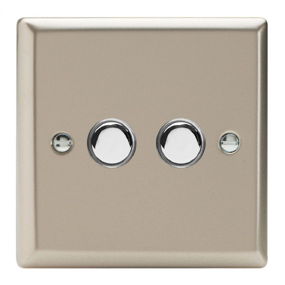 Varilight XNM2 | Satin Chrome Classic Momentary Switch