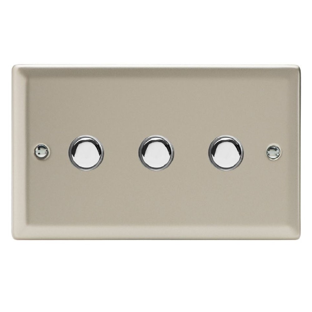 Varilight XNP3 | Satin Chrome Classic Impulse Switch