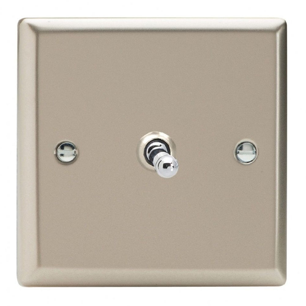 Varilight XNT1 | Satin Chrome Classic Toggle Switch