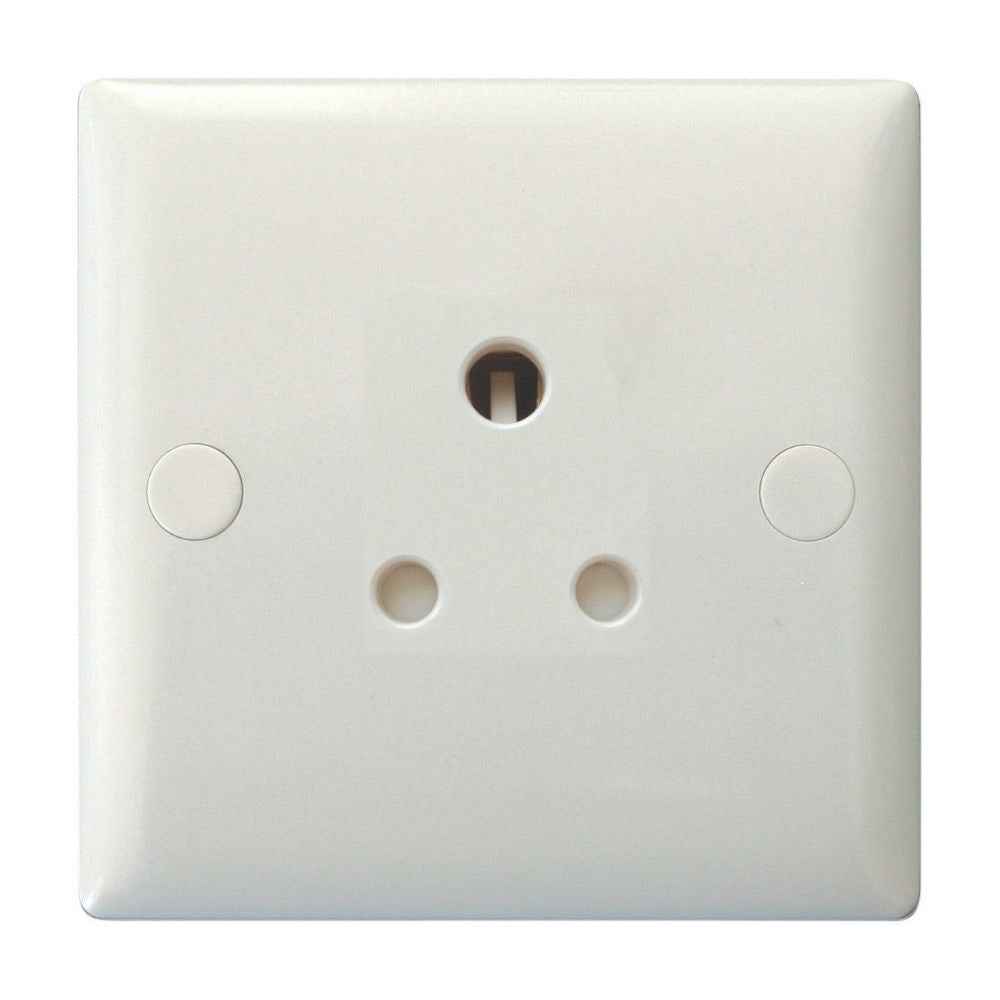 Varilight XORP5AW | Polar White Round Pin Socket