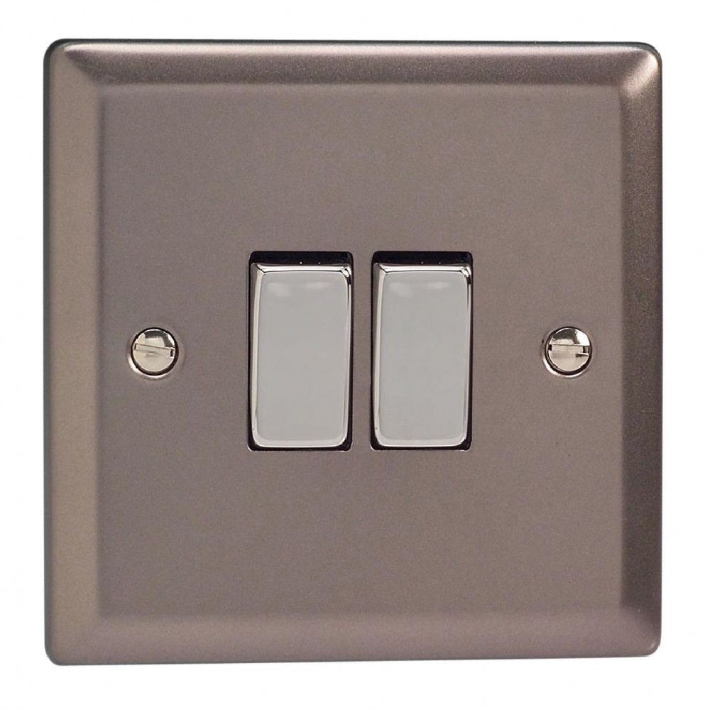 Varilight XR77D | Pewter Classic Intermediate Switch