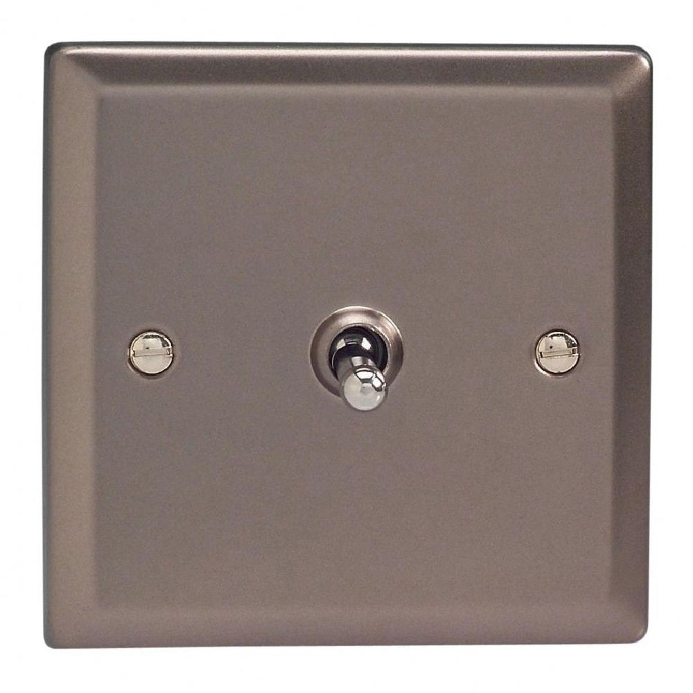 Varilight XRT1 | Pewter Classic Toggle Switch