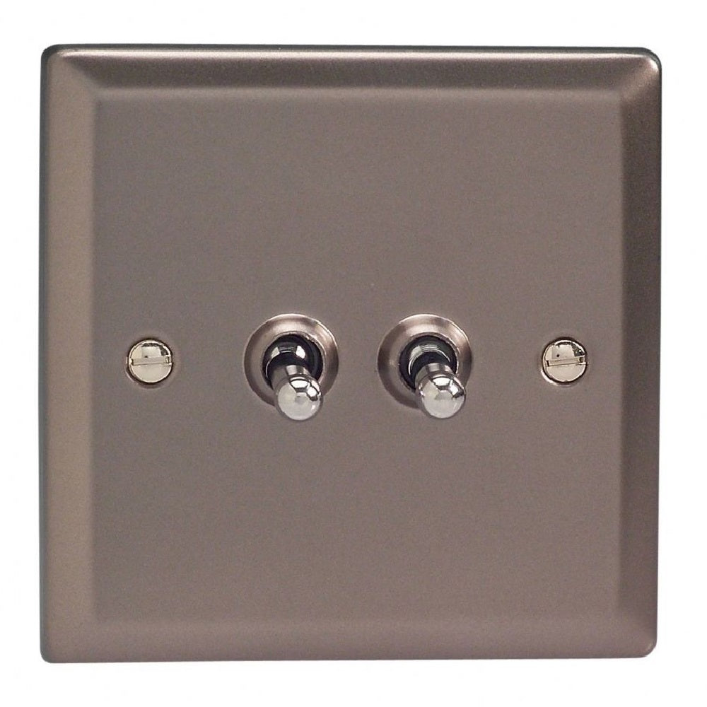 Varilight XRT2 | Pewter Classic Toggle Switch