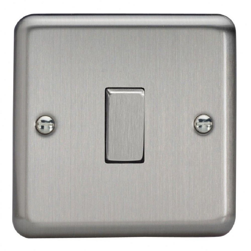 Varilight XS1D | Matt Chrome Rocker Switch