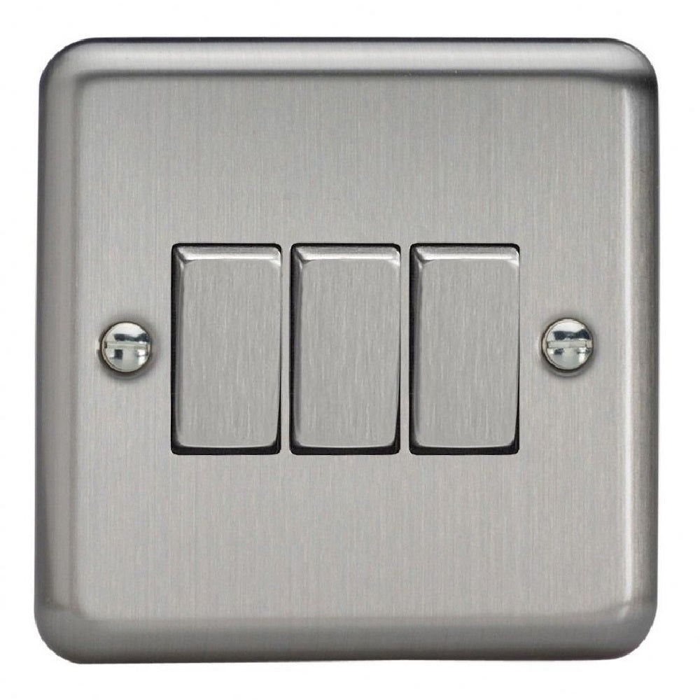 Varilight XS3D | Matt Chrome Rocker Switch