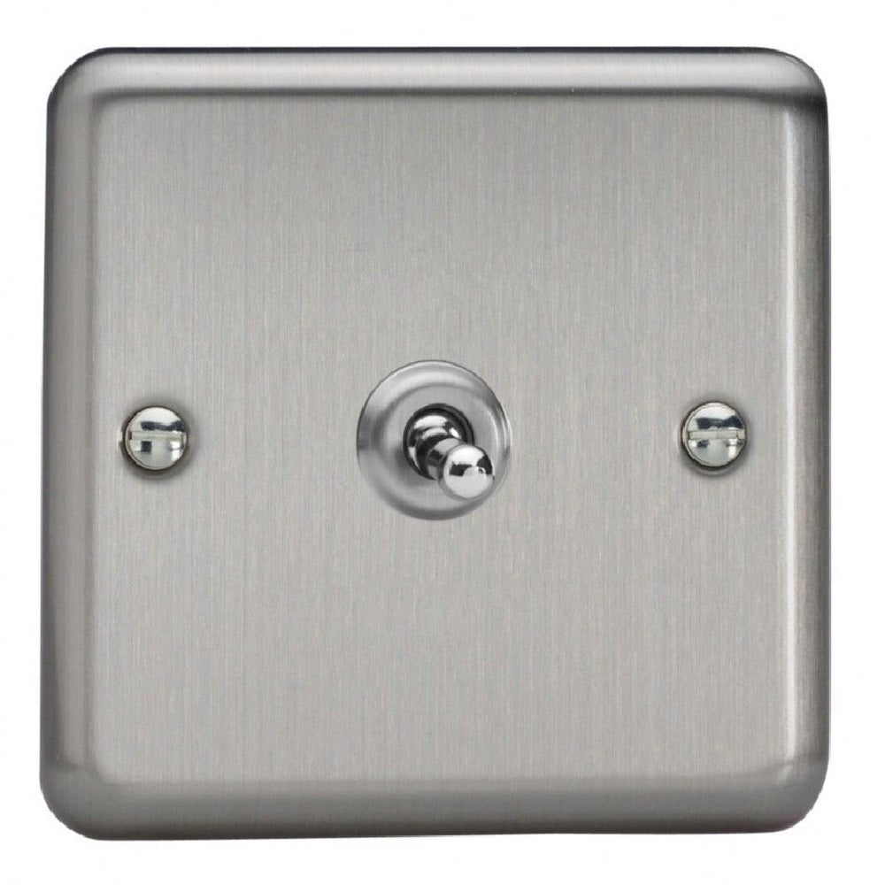 Varilight XST1 | Matt Chrome Toggle Switch