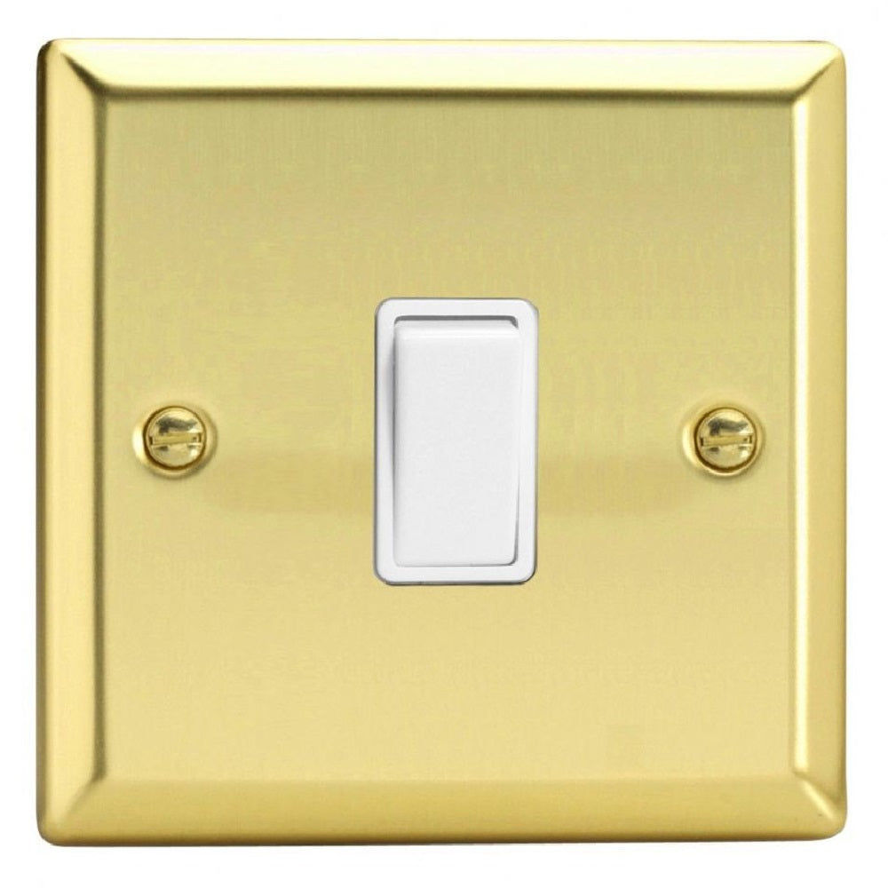 Varilight XV7W | Victorian Brass Classic Intermediate Switch