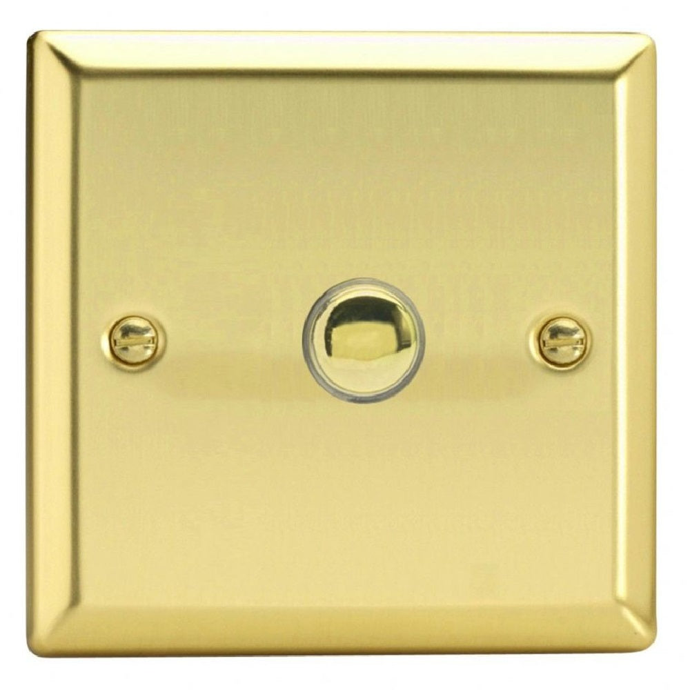 Varilight XVP1 | Victorian Brass Classic Impulse Switch